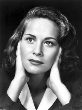 Alida Valli Portrait in Classic by Movie Star News