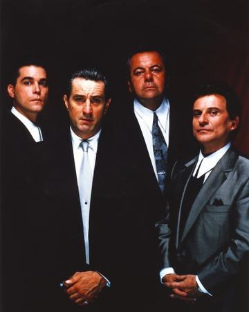 Along with Robert Deniro Black Background Group Picture