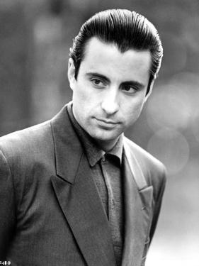 Andy Garcia Posed in Suit by Movie Star News