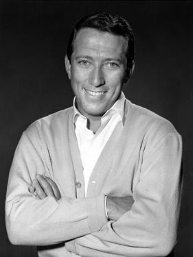 Andy Williams in Suit With Black Background by Movie Star News