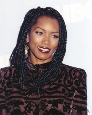 Angela Bassett Posed in See-Through Dress by Movie Star News