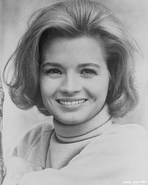 Angie Dickinson Showing a Big Smile in Classic Close Up Portrait by Movie Star News