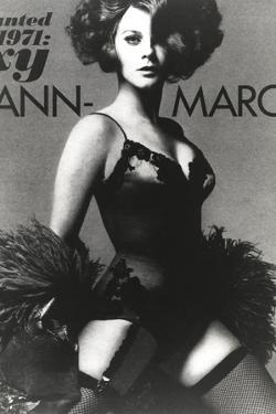 Ann Margret wearing a Black Dress in Classic Portrait by Movie Star News