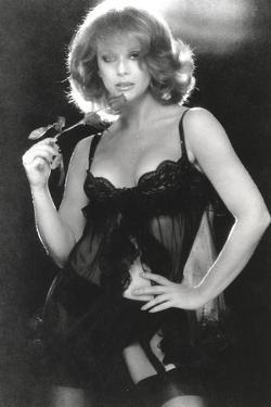 Ann Margret wearing a Black Sleeping Dress in Classic by Movie Star News
