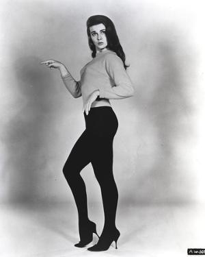 Ann Margret wearing a Shirtdress and a Tight Pants in Classic by Movie Star News