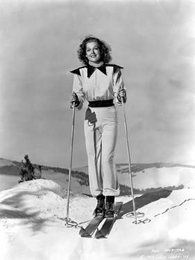 Ann Sheridan wearing a Skiing Outfit by Movie Star News
