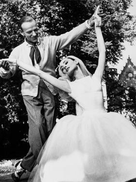 Audrey Hepburn and Fred Astaire Married in Funny Face +tograph High ... by Movie Star News