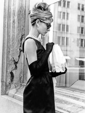 Audrey Hepburn Breakfast at Tiffany's Iconic Shot by Movie Star News
