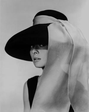Audrey Hepburn Breakfast at Tiffany's Portrait by Movie Star News