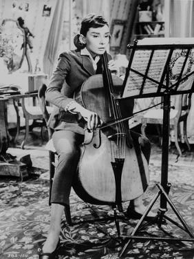 Audrey Hepburn, Love in the Afternoon by Movie Star News