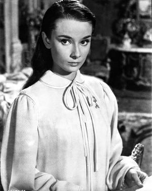 Audrey Hepburn The Unforgiven Movie Scene by Movie Star News