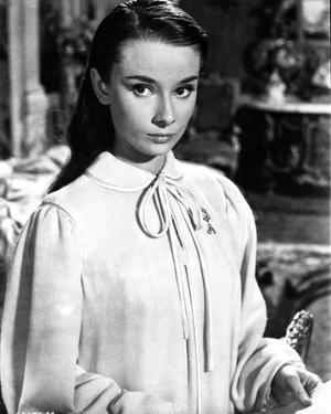 Audrey Hepburn The Unforgiven Movie Scene by Movie Star News