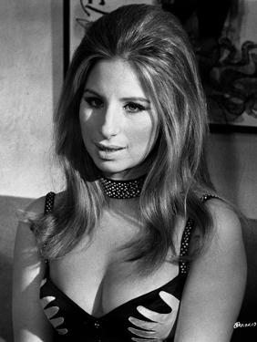 Barbra Streisand Portrait In Lingerie by Movie Star News