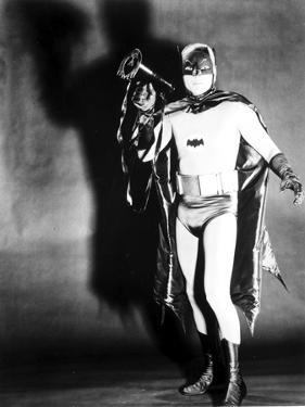 Batman posed in Portrait with Black Background by Movie Star News