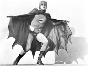 Batman Spreading Cape by Movie Star News
