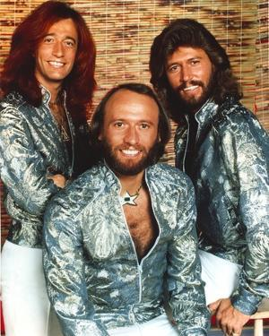 Bee Gees Band Portrait by Movie Star News