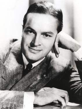 Bob Hope Head Leaning on Hand wearing Formal Coat Portrait by Movie Star News