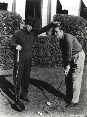 Bob Hope Playing Golf by Movie Star News