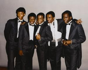 Bobby Brown in Formal Wear Group Portrait by Movie Star News