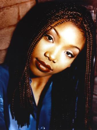 Brandy with Dreads Hairstyle Close Up Portrait by Movie Star News