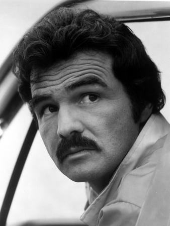 Burt Reynolds Close Up Portrait