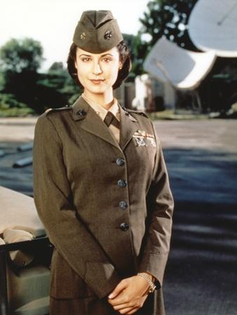Catherine Bell in Air Force Uniform