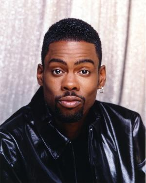 Chris Rock in Leather Jacket Close Up Portrait by Movie Star News