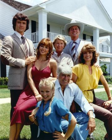 Classic Group Picture with Dallas by Movie Star News