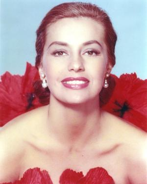 Cyd Charisse Close up Portrait by Movie Star News