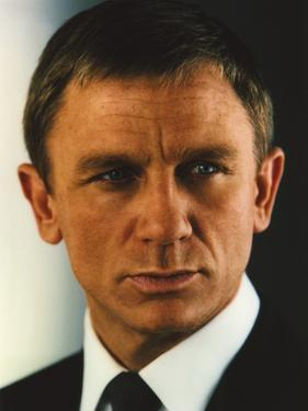 Daniel Craig Portrait in Black Tuxedo by Movie Star News