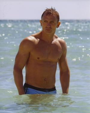 Daniel Craig Posed in Beach by Movie Star News