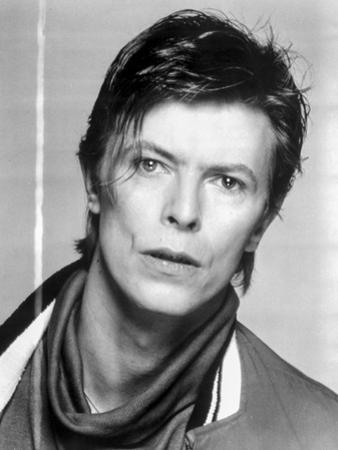 David Bowie Posed in Jacket Portrait by Movie Star News