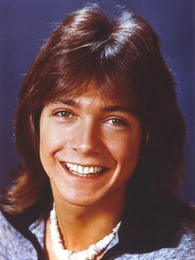 David Cassidy Posed in Blue Coat by Movie Star News