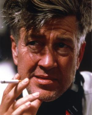 David Lynch Close Up Portrait Smoking Cigarette by Movie Star News
