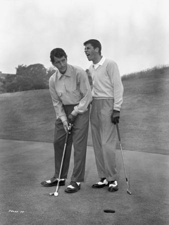 Dean Martin and Jerry Lewis standing Classic Portrait by Movie Star News