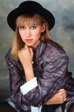 Debbie Gibson on a Printed Blazer Portrait by Movie Star News