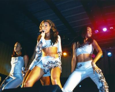 Destiny's Child Performing on Stage by Movie Star News