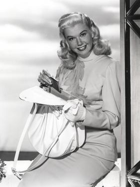 Doris Day smiling in Classic by Movie Star News