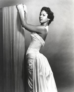 Dorothy Dandridge Posed in Classic with Gown by Movie Star News