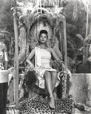 Dorothy Dandridge Seated in Classic with Amazon Attire by Movie Star News