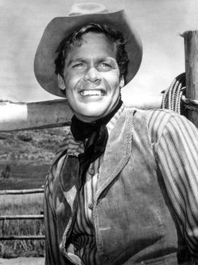 Doug McClure in Black Suit by Movie Star News