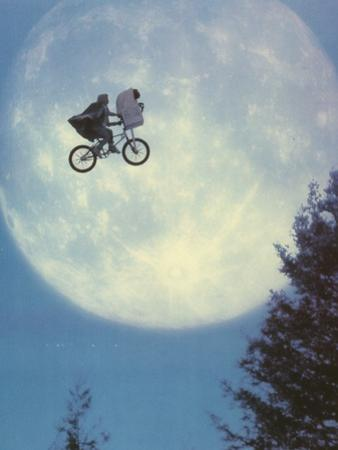 E.T. Flying Bicycle Portrait