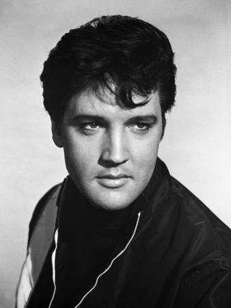 Elvis Presley Portrait in Classic by Movie Star News