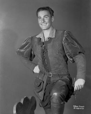 Errol Flynn Hand on Hip in Classic by Movie Star News