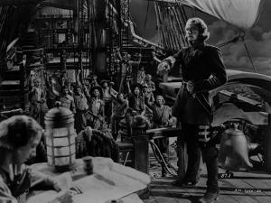 Errol Flynn Movie Scene on a Ship by Movie Star News