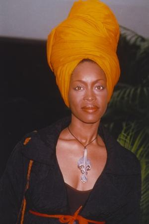 Erykah Badu Posed in Portrait by Movie Star News