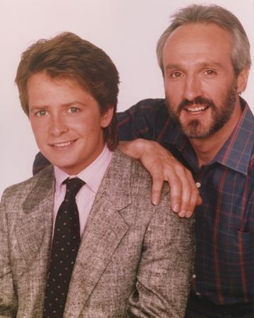 Family Ties Father and Son Portrait by Movie Star News