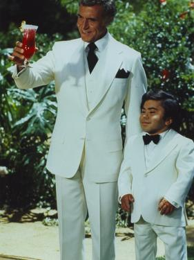 Fantasy Island Mr Roarke and Tatoo in White Suit by Movie Star News