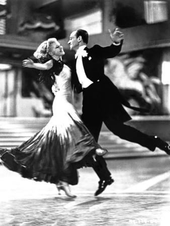 Fred Astaire and Ginger Rogers Classic Dancing by Movie Star News