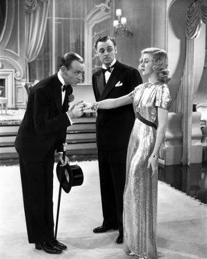 Fred Astaire and Ginger Rogers Kissing Hand by Movie Star News